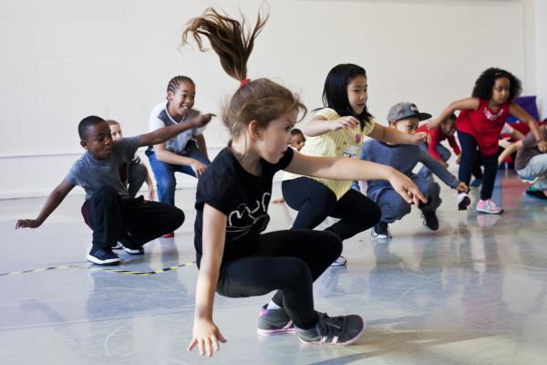 Workshop Kidsdance  Dendermonde.