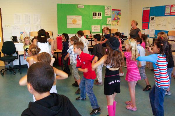 Workshop Kidsdance  Dendermonde.