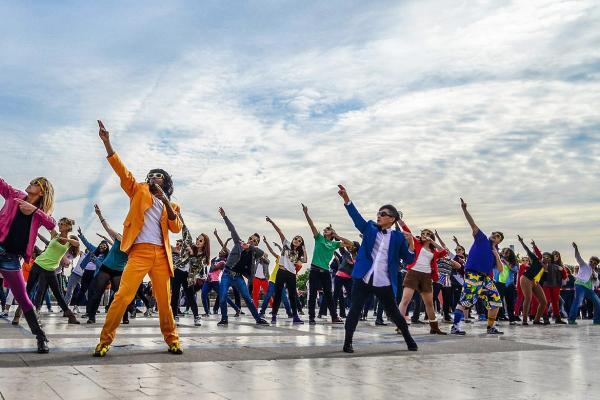 De leukste activiteit met de flashmob workshop i n Dendermonde!